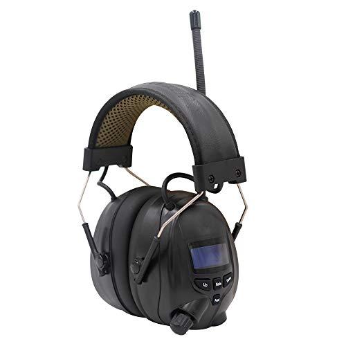 Gehörschutz mit Radio DAB + / FM, integriertem Bluetooth und Mikrofon, SNR 30dB