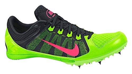 Nike Zoom Rival Md 7 Track Spike Elektro-Grã¼n/Schwarz/Hyperschlags Grã¶Ã?e 11,5 M Us