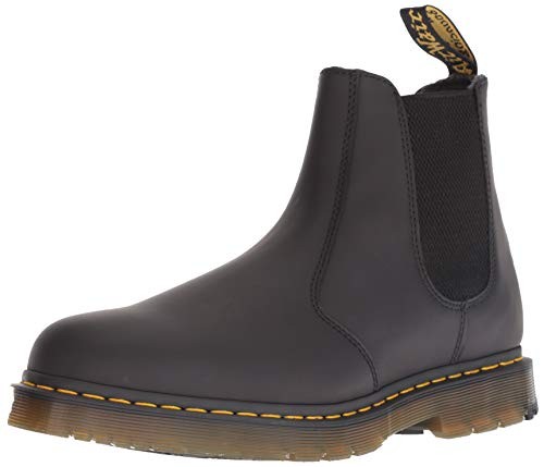 Dr. Martens 2976 Snow Boot, Black Snowplow Wp, Womens 13/Mens 12