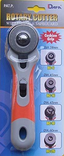Dafa - Cúter Circular (Mango Suave, 45 mm)