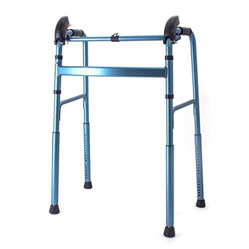DNSJB Ältere Walker Gehhilfe, Treppenaufwärts- und -treppe, einziehbarer Alter Kleinkind-Handlauf