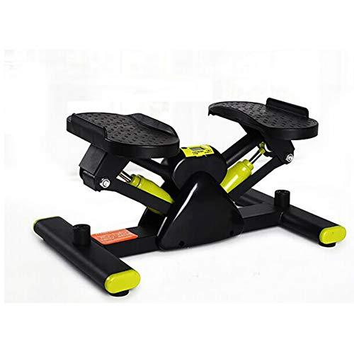 LYzpf Stepper Máquinas de Step Hidráulico Fitness Stair Portátil Mini Steppers Movimiento Equipo de Entrenamiento Físico Steps para Hacer Ejercicio en la Oficina Casa,Black