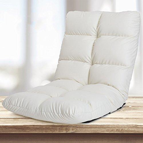 Fauteuils inclinables Feifei Sofa Paresseux Pliant canapé Chaise canapé-lit Chaise Paresseux Chaise Pliant (Couleur : Blanc)
