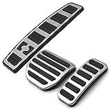 ZIMAwd, Accesorio para Coche, Acelerador de Gas, reposapiés, Almohadilla de Pedal modificada, Pegatina de reajuste, para Land Range Rover Sport/Discovery 3 4