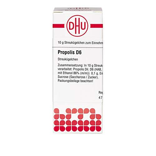 DHU Propolis D6 Globuli, 10 g Globuli