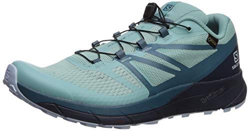 Salomon Sense Ride 2 GTX Invisible Fit W - Zapatillas de Correr para Mujer Sense Ride 2 GTX Invis Fit Trail