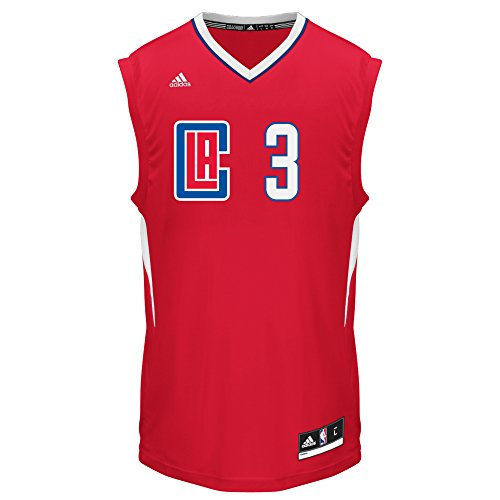 adidas Men's Replica Player Jersey NBA Replica Player Jersey, Red Road