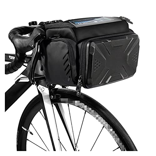 SQATDSBIKE Bolsa de Bicicletas Gran Capacidad Impermeable Tubo Delantero Bolsa de Ciclismo MTB Manilla Bolsa Bolsa DE Frente Transporte Paquete Paquete Accesorios DE Bici