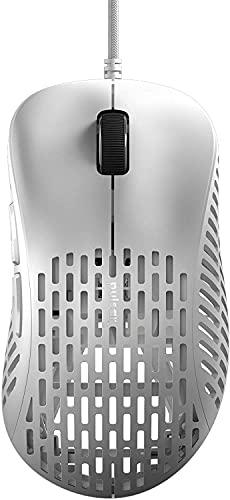 Pulsar Gaming Gears ゲーミングマウス Xlite PXD02 超軽量 48グラム エルゴノミクス 20000 DPI Optical Sensor PAW3370 国内正規品 (マウス単品, White)