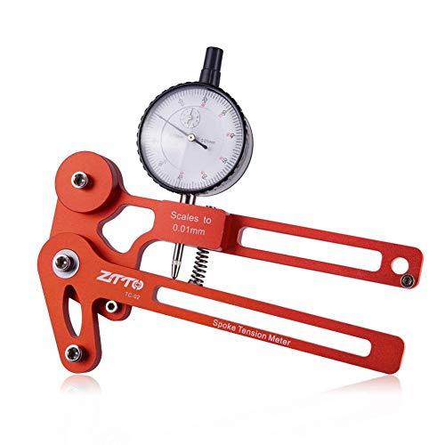 happygirr - Tensiómetro Digital para radios de Bicicleta, medidor de tensión, Herramienta de reparación para radios de Bicicleta
