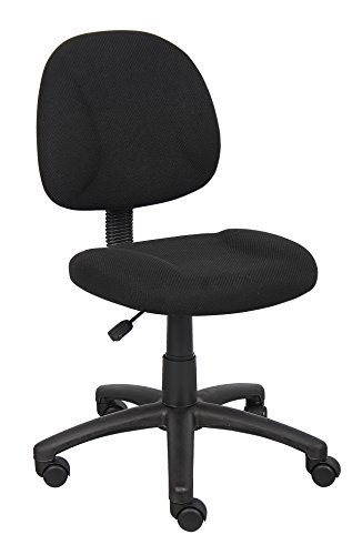Boss Office Products Black Boss Office Deluxe Posture Chair