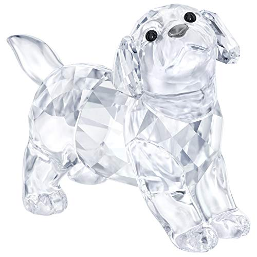 Swarovski Labrador Puppy, Standing, Kristall, transparent, 3,2 x 4 x 1,9 cm