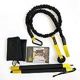 ASports Training Rip Trainer Basic Kit - Trainingsstange und Widerstandsbänder zur Stärkung des Rumpfes
