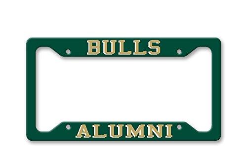 The Turnip Seed Co Bulls Alumni - USF Colors - License Plate Frame LP1563