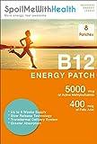 SpoilMeWith Health: B12 Patches (Methylcobalamin 5000 mcg) and folic Acid (0.4 mg). 8 Week Supply
