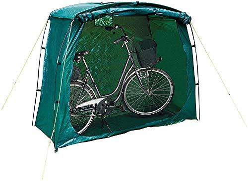 Fahrradkeller Zelte, Zelt Funktion Fahrrad, im Freien wasserdichten Design, Schatten, für die Speicherung von Fisch, Insektenbekämpfung, platzsparend,Green
