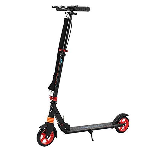 Patinetes, Trick Scooter Cubierta de pedales mate con ruedas de alto impacto Lean to Steer Ajuste flexible de altura Patinete de ruedas grandes para principiantes a intermedios Patinetes de acrobaci