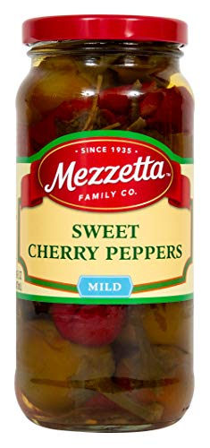 Mezzetta Sweet Cherry Peppers, 16 Ounce