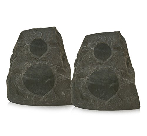 Klipsch AWR-650-SM All Weather 2-way Rock Speakers - Pair (Granite)
