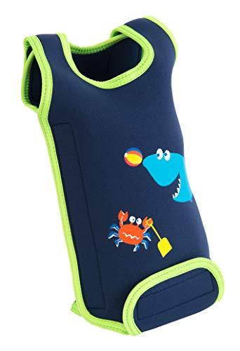 SwimBest Neoprenanzug für Babys, warm, für Mädchen und Jungen von 0-6, 6-12 und 12-24 Monaten