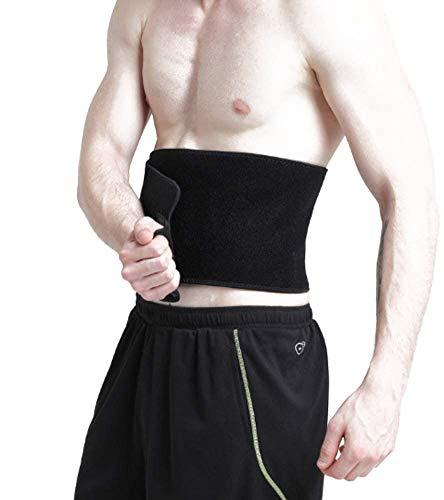 FEimaX Faja Reductora Adelgazante, Cinturón de Fitness Ajustable para Mujer y Hombre, Quema de Grasas y Efecto Sauna, Soporte para Abdominal y Espalda Baja