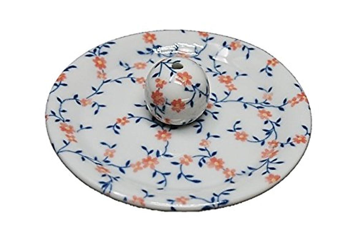 眼トレーダーアレイ9-6 カントリーフラワー 9cm香皿 お香立て お香たて 陶器 日本製 製造?直売品