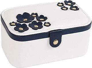 Sakura Jewelry Box Jewelry Storage Box Simple Jewelry Box European Ring Box Earring Storage Box (Color : White)