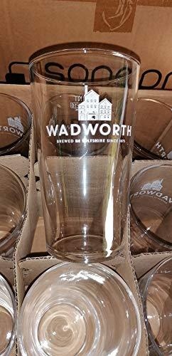 Set di 6 bicchieri da 50 cl birra Wadworth – Rare