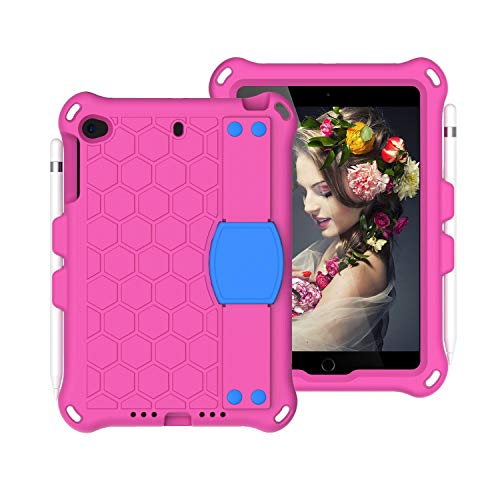 Tablet PC Bolsas Bandolera Para For Kids Case para iPad Mini 5 4 3 2 1, Cubierta de caja de EVA a prueba de choques a prueba de choques liviana y a prueba de choques con soporte plegable incorporado y