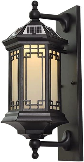 HFFTQ Matt Special Campaign Max 53% OFF Black Outdoor Fixtur Lighting Wall Lamps