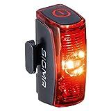 SIGMA SPORT - INFINITY | LED Fahrradlicht mit 16h Leuchtdauer | StVZO zugelassenes, akkubetriebenes Rücklicht