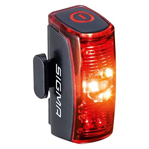 SIGMA SPORT - Infinity | LED Fahrradlicht mit 16h Leuchtdauer| StVZO zugelassenes, akkubetriebenes Rücklicht