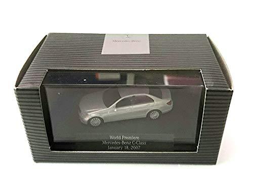 Bester der welt Mercedes C-Klasse Limousine (W 204), Weiß, Eleganz, Modellauto, Fertiges Modell, Bush 1:87