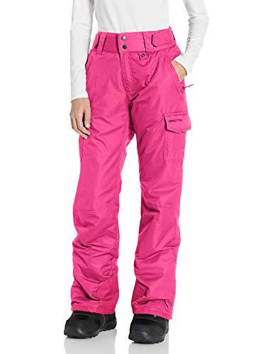 Arctix Women's Snow Sports Insulated Cargo Pants, Rose, Medium