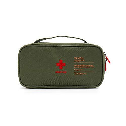 donfhfey827 Bolsa de Almacenamiento al Aire Libre, botiquín de Primeros Auxilios, Caja de Pastillas