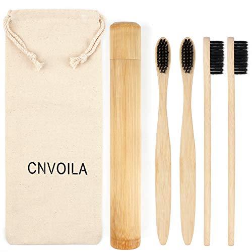 Cepillo de dientes de bambú, Cepillos de dientes ecológicos, Cepillo de dientes...