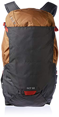 Kelty Unisex's Riot Hiking Backpack, Canyon Brown, 22 Litre