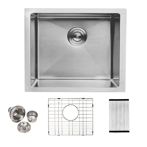 Undermount bar sink - lordear 23 inch kitchen sink undermount 16 gauge...