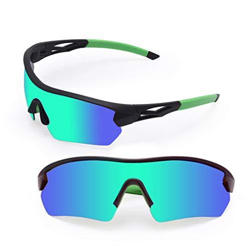 Gafas De Sol Polarizadas En Bicicleta, Gafas De Ciclismo Al Aire Libre Gafas De Sol Polarizadas para Mujeres Y Hombres, Corriendo Béisbol De Conducción De Golf,D