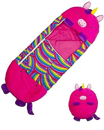 Saco De Dormir para Niños Unicornio Dibujos Animados De Animales Feliz Y Cálido Bebé Súper Suave Manta De Muñeco De Peluche Muñeca Juguete Pequeño Niño Año Nuevo Dragón Gigante