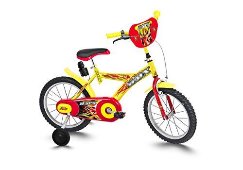 Ciclos roveco BMX, Bicicleta Niño, niño, 1956b Giallo, Amarillo, 16' (40,64 cm)