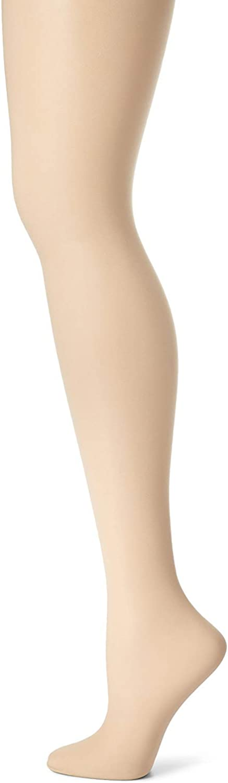 Hanes Silk Reflections Control Top Sheer Toe Pantyhose 2P_Travel Buff_EF