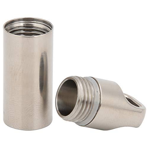 Weikeya Caja impermeable de la droga, aleación de titanio a
