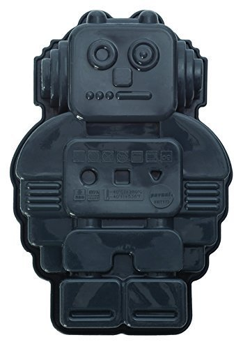 The Baking Hut Mini Roboter Fantasie-Form 4,5 Zoll/Pan Backform