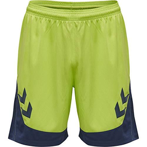 Hummel Herren Short Lead Poly 207395 Lime Punch L