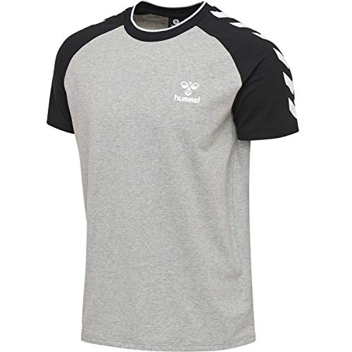 Hummel Herren T-Shirt Mark 206410 Grey Melange L