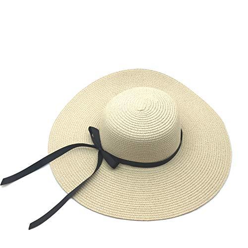 Sombreros para el Sol Mujer Pamela de Paja Sombreros Mujer Verano Sombrero ala Ancha Mujer...