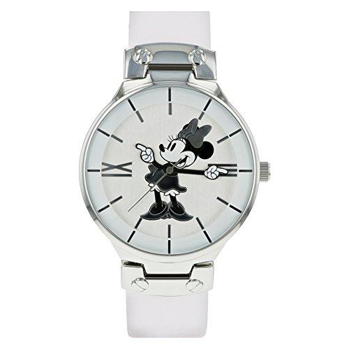 Disney Reloj Análogo clásico para Mujer de Cuarzo con Correa en Cuero MN1562