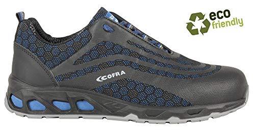Cofra nero Scarpe di Sicurezza Fotofinish Nuova Running Shoes S3 Taglia 39 19030-000