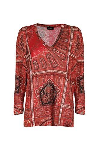 Etro Luxury Fashion Damen 192355217600 Rot Viskose Bluse | Herbst Winter 20